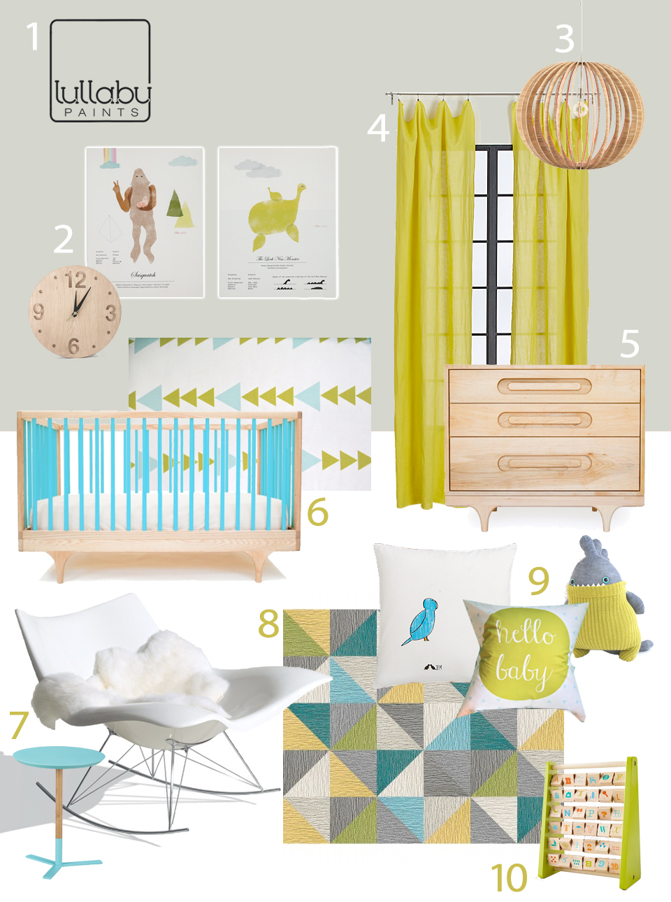 neutral colors for baby nursery