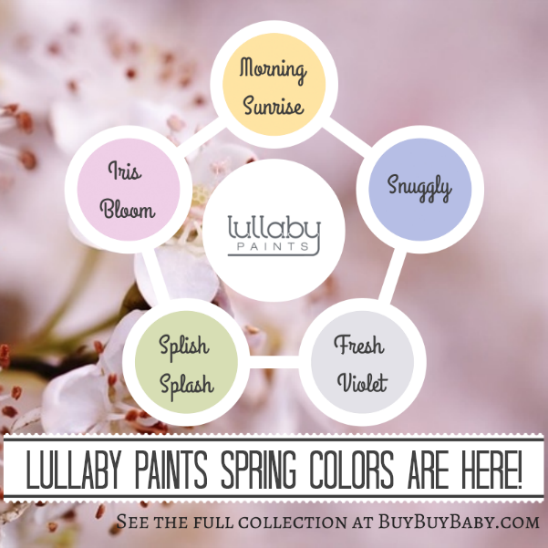 lullaby paints spring color collection