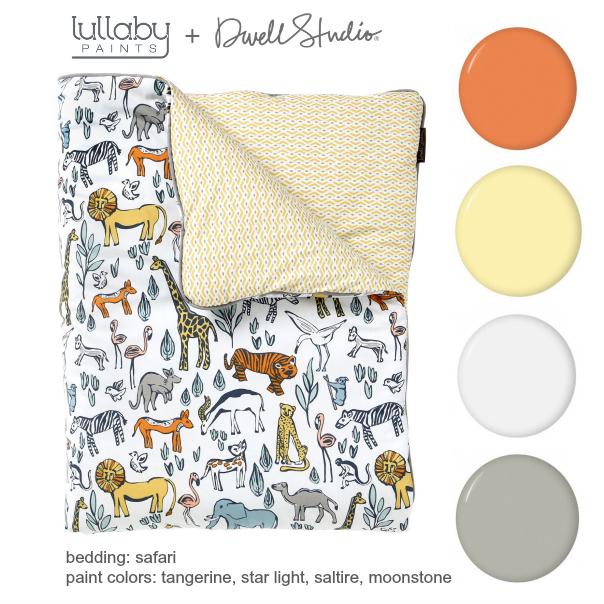 safari nursery inspiration - lullaby paints