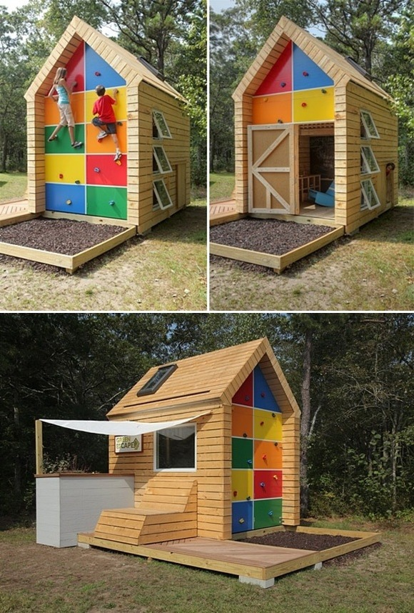 Painting a Child's Playhouse - Lullaby Paints