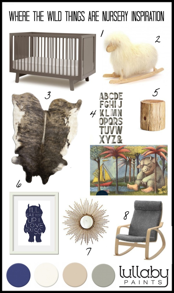 where the wild things are nursery - lullaby paints