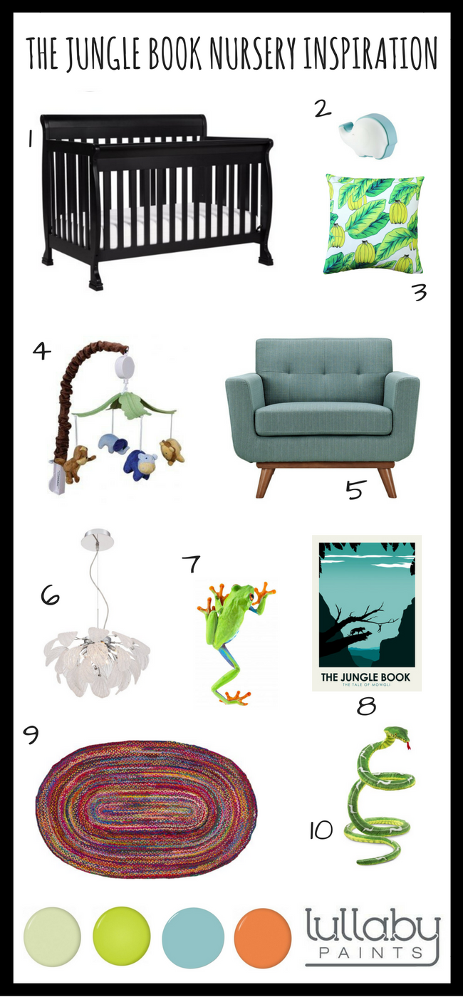 the jungle book nursery inspiration (1)